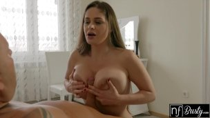 NF Busty – Using BigTits And Tongue To Make Her Man Cum S5:E7